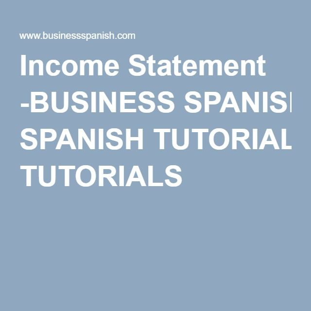 Más de 25 ideas increíbles sobre Income statement en Pinterest - components of income statement