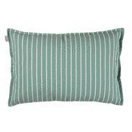 Linum Vega Cushion, Turquoise