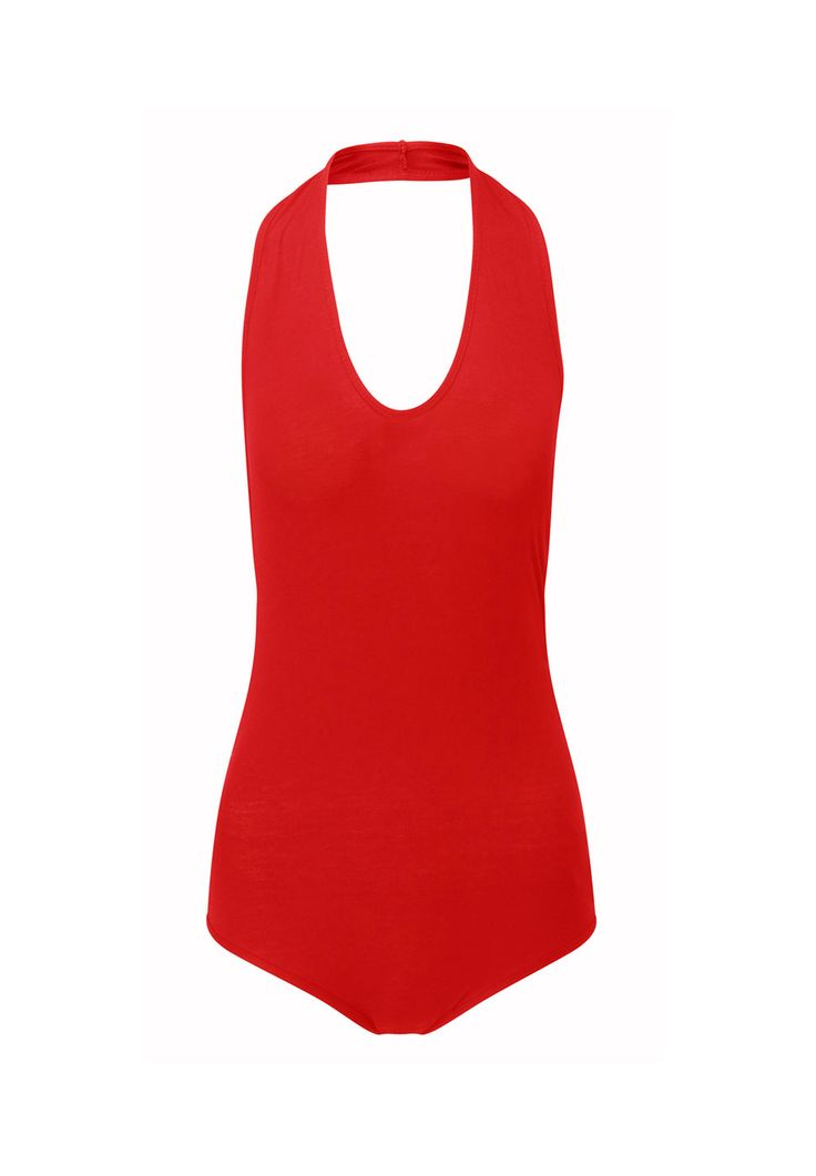 Today's Hot Offer: NOW Just £3.99! http://www.prodigyred.com/p3737/kal-jersey-halter-bodysuit/product_info.html?attr_id=17