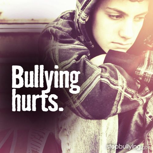YES!! Bullying hurts, I know i got bullied because I was in band by people who were in band. So I quit band. Don't be like me and quit something you love because people say you don't need to be there because if you are in a group they are like family.