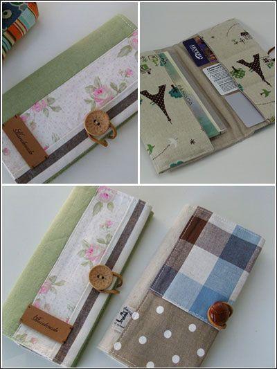 Sewing - Handbag Patterns - Wallet  Coin Purse Patterns - Wallet Pattern - Wallet Sewing Pattern