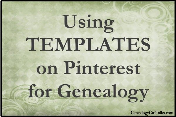 Genealogy Girl Talks   Family History   Genealogy   Audio Blog   Podcast: Using Pinterest for Genealogy