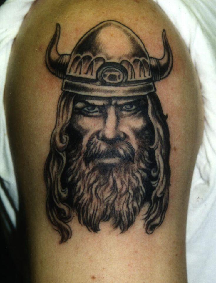 Image Source: Tattoostime  #viking #tattoos