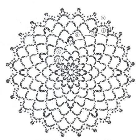 #ClippedOnIssuu from Crochet lace flower applique