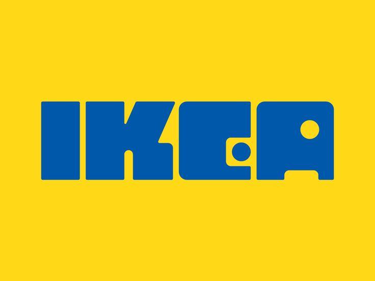 A Is For Bauhaus Ikea Logo Serra Lettering