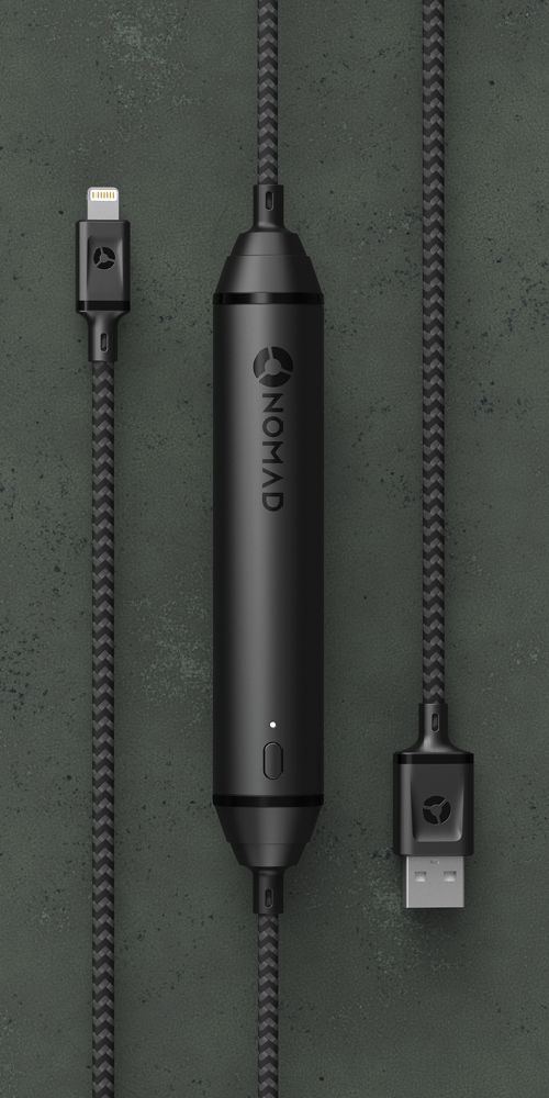 NOMAD Ultra-Rugged Cable Series. Battery Cable, Universal Cable, and Lightning Cable. All ultra-rugged; all built to last.