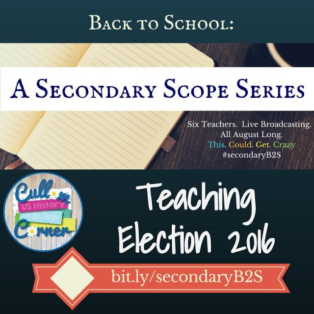 Blog post & video about how teachers can incorporate Election 2016 into their classroom. Also discusses ways to discuss the election without all the controversy.