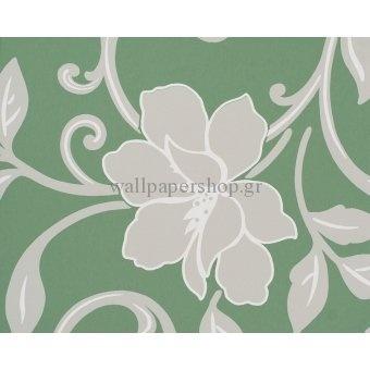 Ταπετσαρίες Τοίχου :: Κλασικές :: The Studio Collection Green No 3216 - WallpaperShop