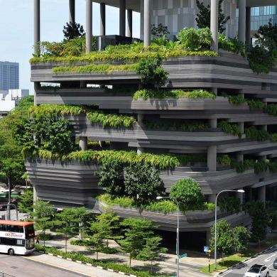 PARKROYAL on Pickering: Location: Singapore Architects: Tierra Design Landscape…