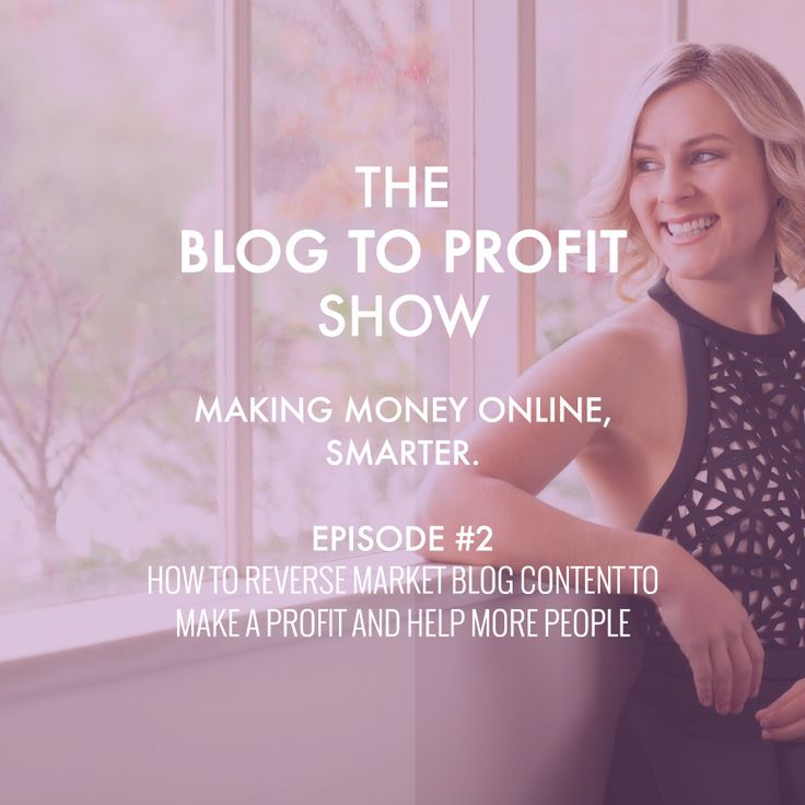 The Blog to Profit Show. Make a Profit Online, Smarter