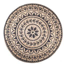<p>Prachtig juten vloerkleed van By Boo in de kleur zwart. Dit stijlvolle tapijt heeft met zijn ronde vorm en prachtige patroon een chique uitstraling. Door het gebruik van jute heeft het tevens een stoer karakter en is het een echte aanwinst voor uw woonkamer.</p>