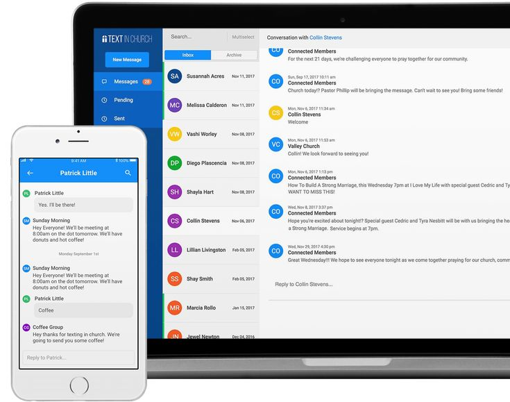 Church Communication App