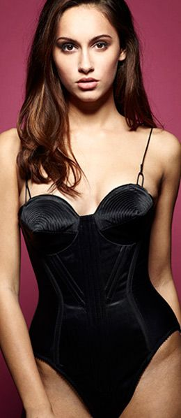 Ralf Pink Patterns // bullet-bra-corset-crop