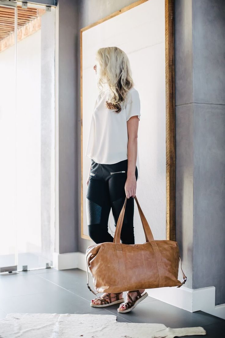 Masai Carrier - Hazelnut Leather