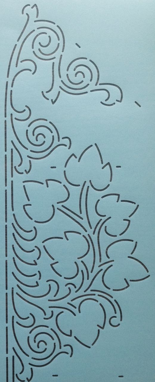 "Ivy Border 7"" - The Stencil Company"
