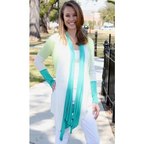 This San Juan Cardigan makes me think of Spring... and tropical beaches too!: San Juan, Juan Cardigans