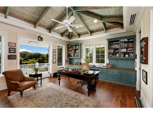 beautiful home office ideas. Coastal Home Office Space - Beautiful Ceiling Details Olde Naples Ideas S