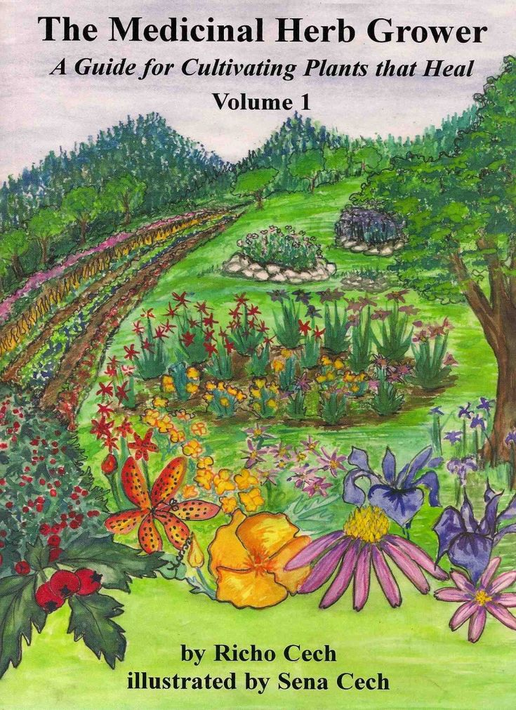 The Medicinal Herb Grower Guide a blog for me Pinterest