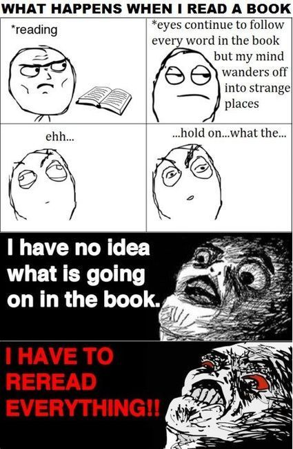 What happens when I read a book.