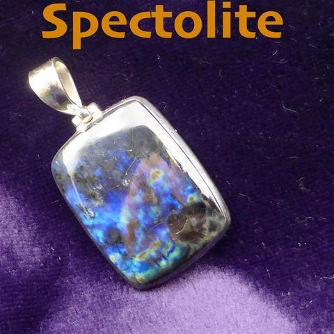 Spectrolite Pendant 925 Silver MJ6