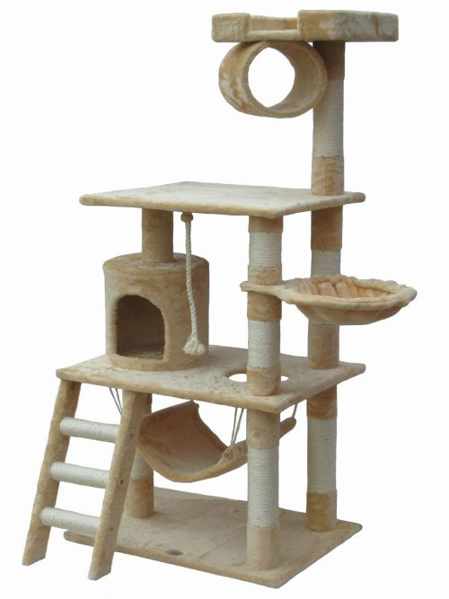 6 Large and Jumbo Cat Trees, Climbers and Condos Under $100