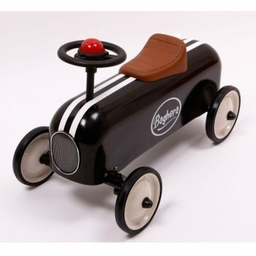 Baghera Black Racer Ride on Car from The Toy Centre UK
