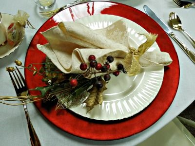 1110 Best Christmas Tablescapes Images On Pinterest