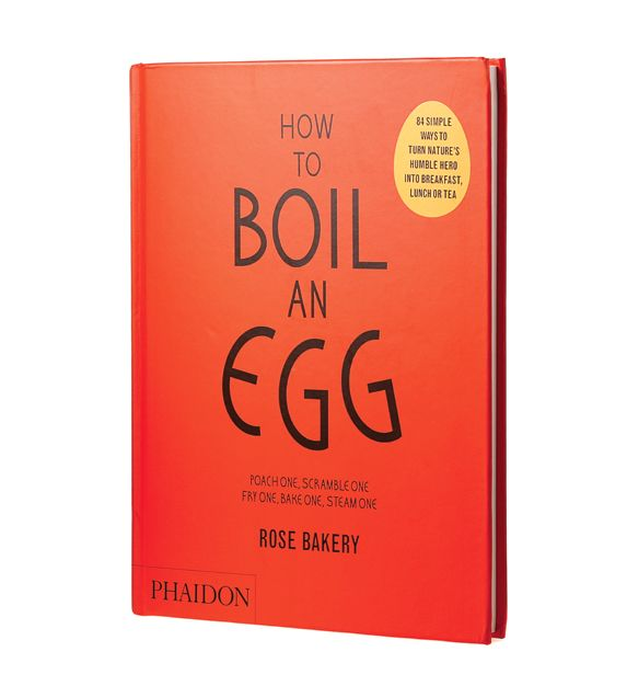 After years of fielding reader questions, the Chatelaine Kitchen has learned that the question of how to properly cook eggs is a common culinary conundrum. How To Boil An Egg, by the Anglo-French bakery and restaurant Rose Bakery, might change that. With its ultra-realistic illustrations and recipes from Scotch eggs to custard tarts, it's the perfect cookbook for novices and experienced cooks alike.