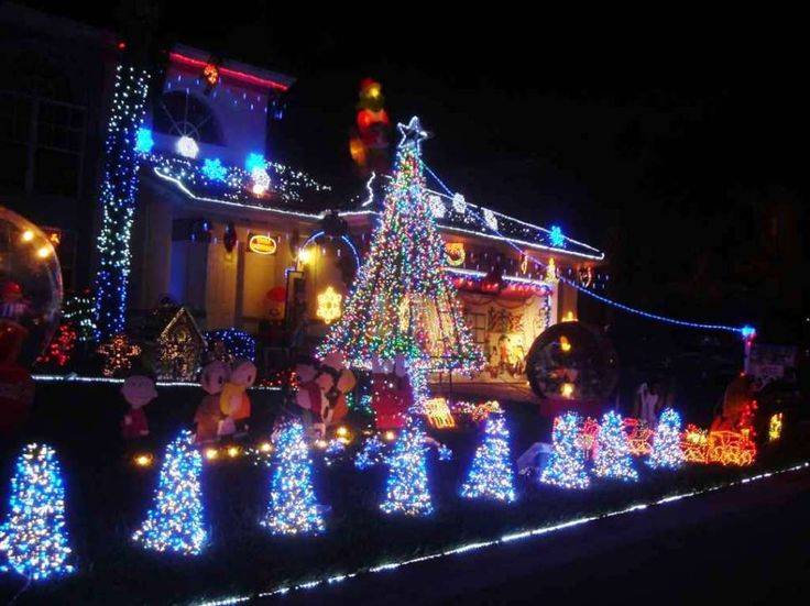 69 best Decoration images on Pinterest Christmas ornaments - lighted outdoor christmas decorations