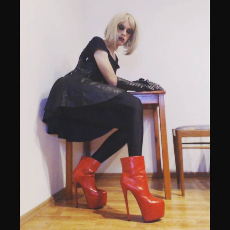 #crossdresser #crossdressing #crossdresserslut #xdresser #ladyboy #tgirl #sissyslut #sissyboy #femboy # tranny #transvestite #shemale #femboi #mtf #xdressing #crossdress #highheels #tights #highheelboots