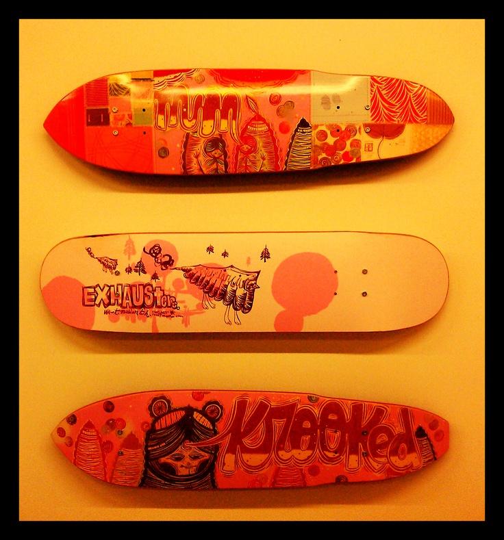 #MP2013 - Expo la dernière vague - #Skates