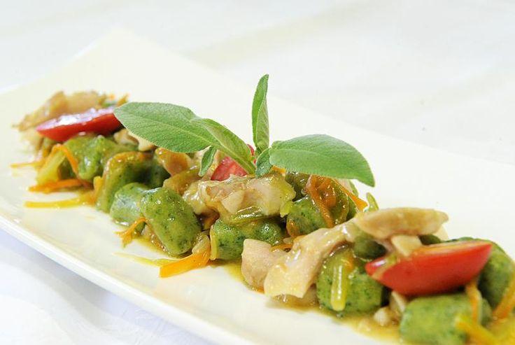 Ricetta Gnocchi d'ortica con coregone e verdurine - Cucina e Sapori - Giornale di Brescia