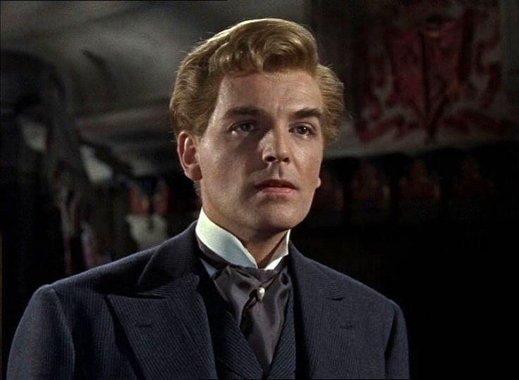 David Peel from The Brides of Dracula (1960) Most fine looking vampire ever.
