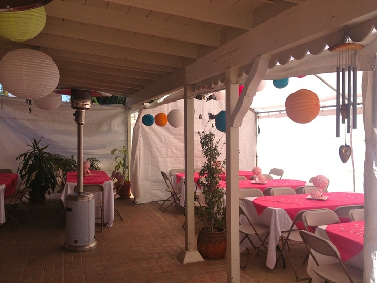 17 best images about baby shower ideas on pinterest for Baby shower canopy decoration