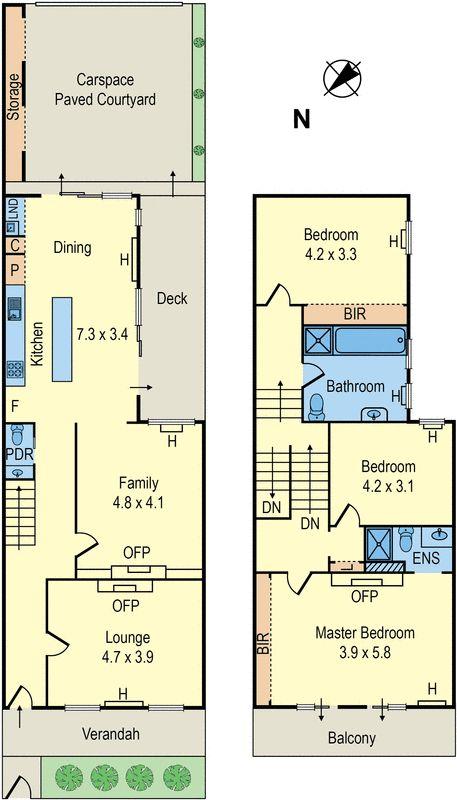 13 Mary Street, St Kilda West, Vic 3182 - floorplan