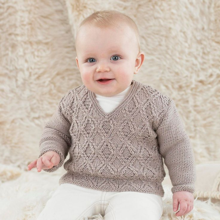 For little boys from 0 to 3 years - knitted in the most gorgeously soft Sublime yarns.