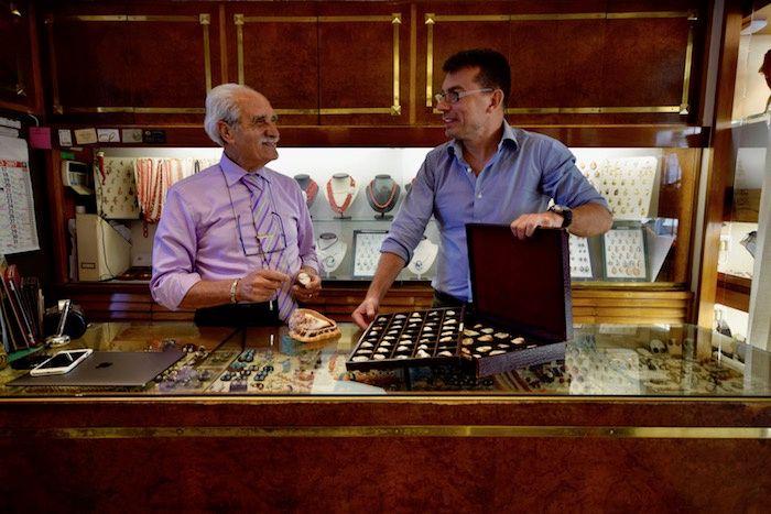 Marco e Alessio della gioielleria veneziana Jovon    http://www.gallinepadovane.it/2017/06/01/moretti-veneziani-gioielleria-jovon/
