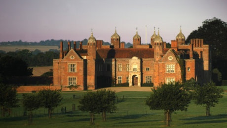Long Melford Hall, where Beatrix Potter wrote her books.