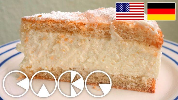 KÄSESAHNETORTE REZEPT --- CHEESE CREAM CAKE Recipe