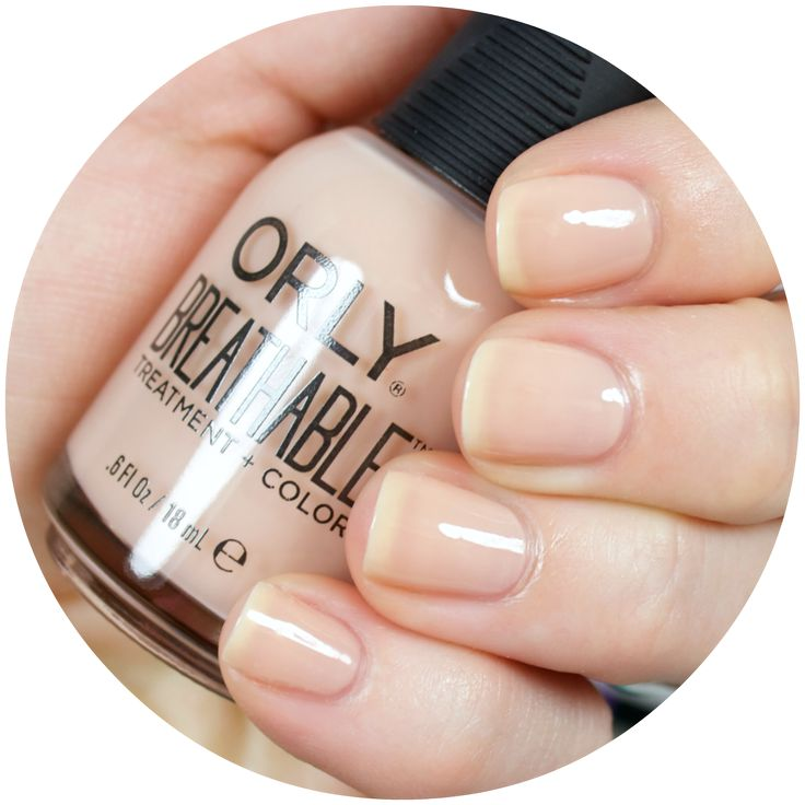 Thanks to the new Orly Breathable Treatment + Color line, you don't have to sacrifice your nail health when wearing your favorite polish shades!