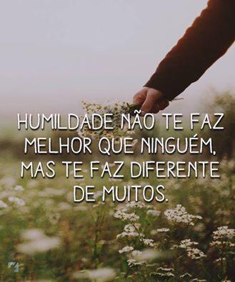 Humildade Frase Humildade Não Te Faz Melhor Que Ninguém Mas Te Faz