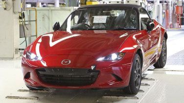 Cool Fiat 2017: Fiat version of Mazda MX-5 Miata to be called 124 Spider Check more at http://24cars.top/2017/fiat-2017-fiat-version-of-mazda-mx-5-miata-to-be-called-124-spider/