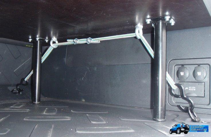 Cargo solution: Light weight, adjustable, multipurpose - Toyota FJ Cruiser Forum