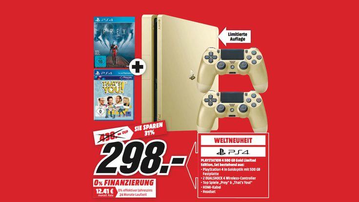 Jetzt lesen: PS4: Gold-Version im Angebot bei Media Markt - http://ift.tt/2useey0 #nachricht