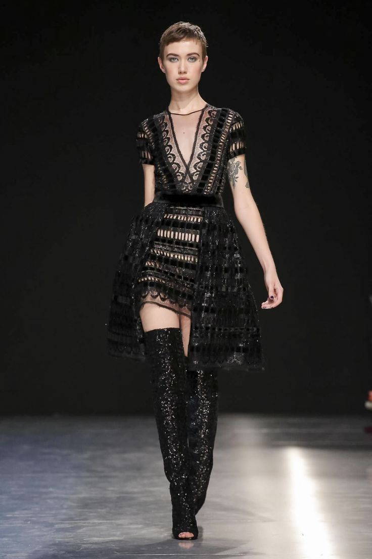 Georges Chakra Fall Winter 2017 Couture Fashion Show Paris