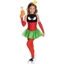 Stunning Marvin the Martian Girl Child Costume