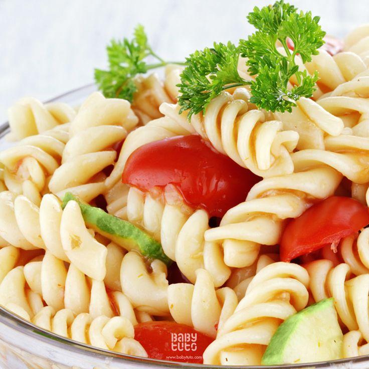 #BabyReceta | Ensalada de pastas con salsa pesto: http://bit.ly/1L5IljB