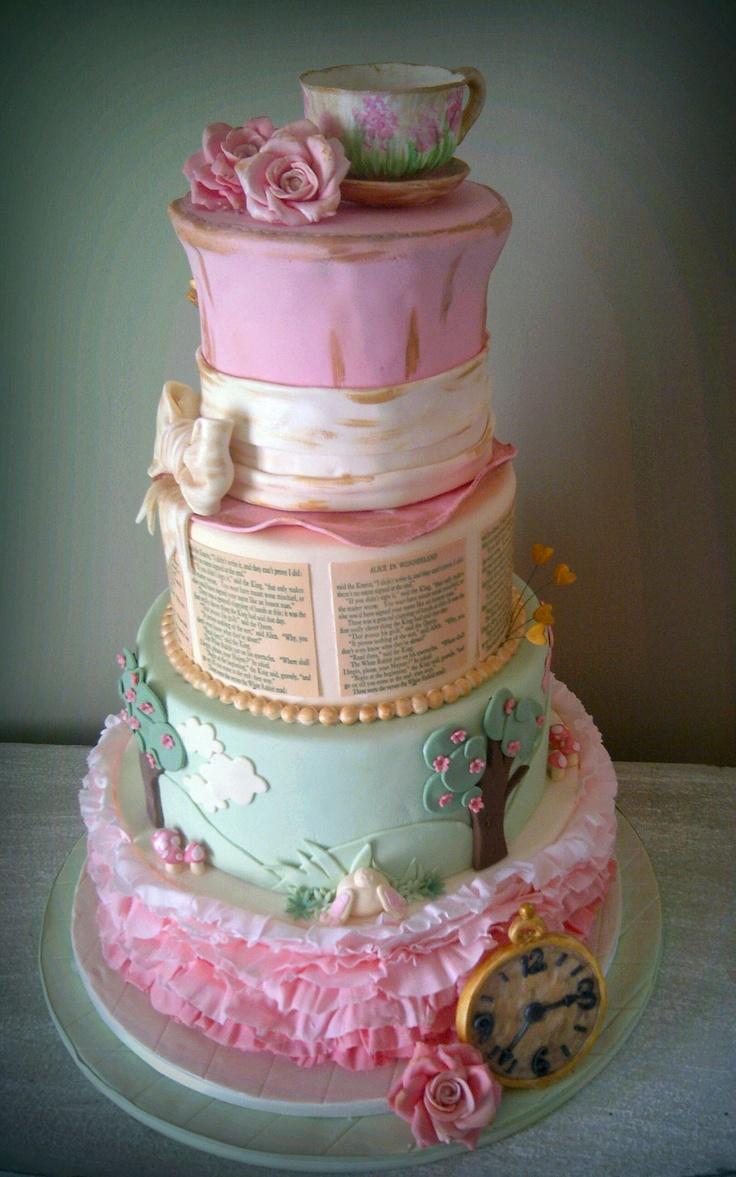 Cake Art Wonderland : 17 Best images about Alice In Wonderland on Pinterest