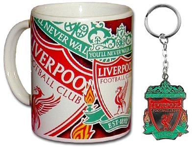 Liverpool FC gifts, Liverpool Mug, Liverpool keyring, Romantic gifts for boyfriends, Valentine's day