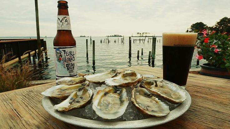 Every bottle of Pearl Necklace Oyster Stout made by Flying Dog Brewery enables the Oyster Recovery Partnership to plant 10 baby oysters in the Chesapeake Bay.  Great cause; great beer!